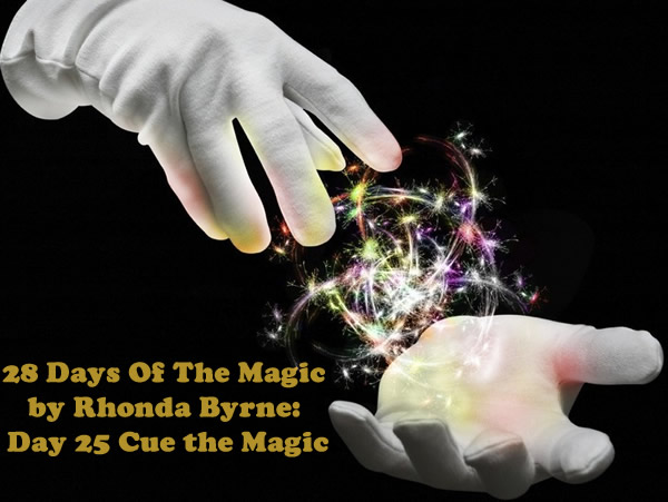The Magic Day 25 Cue the Magic